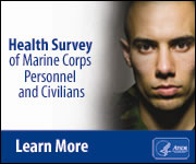 Health Survey of Marine Corps Personnel and Civilians. Link: http://www.atsdr.cdc.gov/sites/lejeune/health_survey.html?s_cid=c-lejeune-002-bb