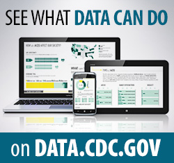 See what DATA can do on Data.CDC.gov.