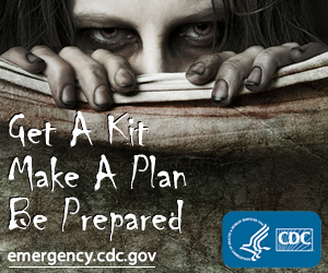 Get A Kit,Make A Plan, Be Prepared. emergency.cdc.gov