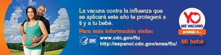 La vacuna contra la influenza que se aplicara este ano te protegera a ti y a tu bebe.