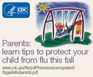 Parents: learn tips to protect your child from flu this fall.