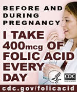 Before and during pregnancy I take 400mcg of folic acid every day. cdc.gov/folicacid