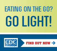 Eating on the go? Go Light! Find out how.