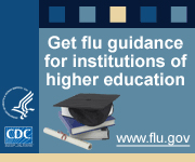 Get flu guidance for institutions of higher education.