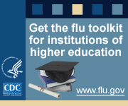 Get the flu toolkit for institutions of higher education.