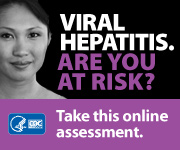 Badge for 'Hepatitis Risk Assessment' campaign