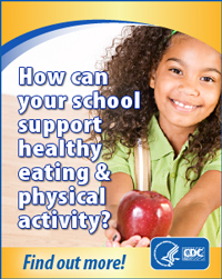 How can your school support healthy eating & physical activity. Find out more! http://www.cdc.gov/healthyyouth/npao/strategies.htm