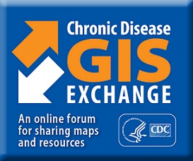 Chronic Disease GIS Exchange. An online forum for sharing maps and resources.