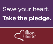 Save your heart, take the Million Hearts pledge