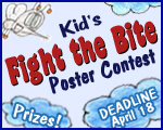 Kid's Fight the Bite Poster Contest – Prizes! Deadline: April 18