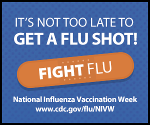 National Influenza Vaccination Week and Influenza Updates