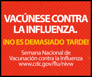 Vacúnese contra la influenza.