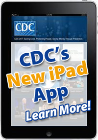 Link to the Apple Store and download CDC's free iPad App.