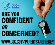 Are you confident or concerned? www.cdc.gov/parentsarethekey