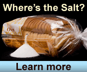 Where's the Salt? Learn more…