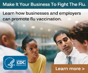 Make it your business to fight the flu.<br />