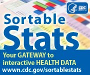 Sortable Stats  Your gateway to interactive health data. wwwn.cdc.gov/sortablestats