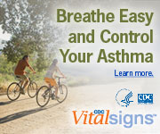 Breathe Easy and Control Your Asthma. Learn more: CDC Vital Signs™