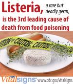 CDC - Listeria - Home