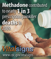 Methadone contributed to nearly 1 in 3 prescription painkiller deaths in 2009.