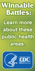 Winnable Battles: Learn more about these public health areas.