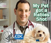 My Pet got a Rabies Shot