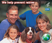 We help prevent rabies