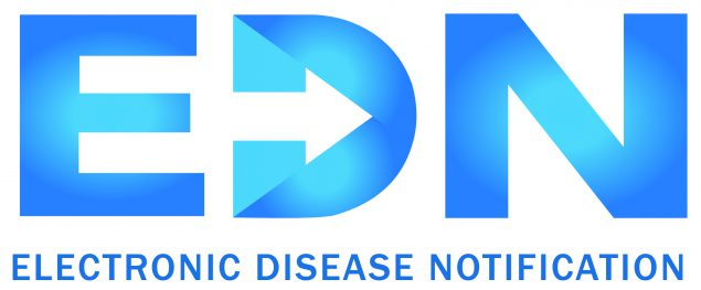 Electronic Disease Notification logo