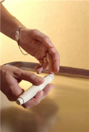 Reusable Fingerstick Device