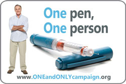 One Pen One Person for more information visit www.oneandonlycampaign.org/content/print-materials