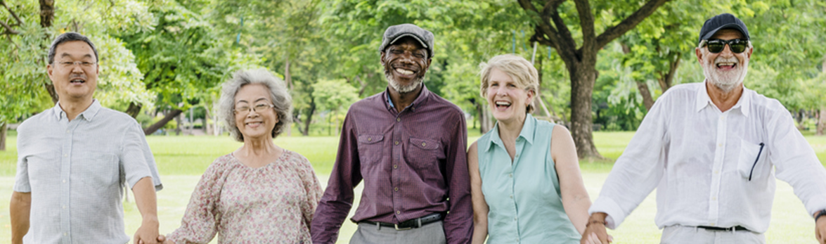 Image of smiling older adults