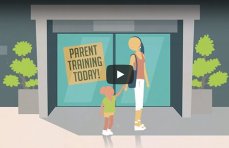 Screenshot of the Adverse Childhood Experiences (ACES) video