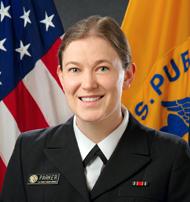 Lieutenant Commander Erin Parker, PhD