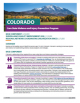 Colorado Core State Violence and Injury Prevention Program