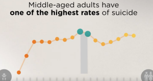 WISQARS Data Visualization: Suicide Data by Age Group