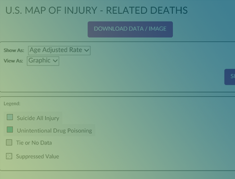 fatal injury data visualization