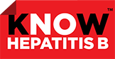 Faded image of logo for Know Hepatitis B