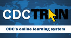 CDC TRAIN Logo