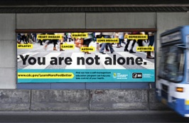 You are not alone billboard