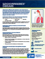 Legionnaires' Disease Fact Sheet