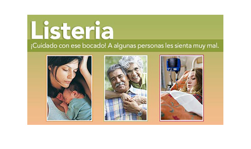 Learn key facts about Listeria in Spanish
