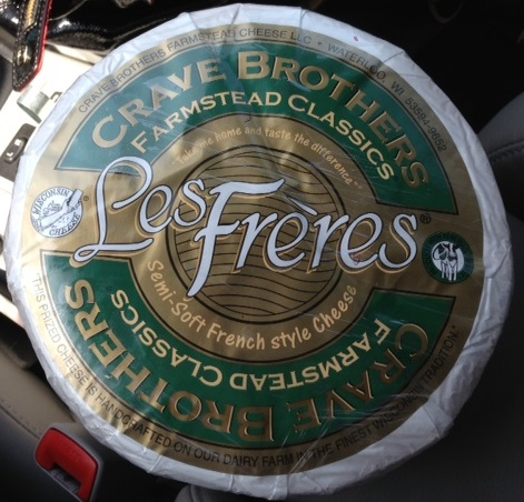 Les Frères cheese made by Crave Brothers Farmstead Cheese Company