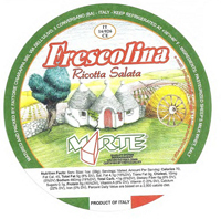 Photo: Imported Frescolina Brand Ricotta Salata Cheese logo