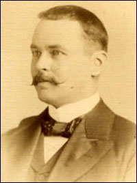 Photograph of Sir Ronald Ross in 1899