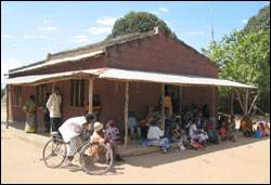 The Jaribu-Mpakani dispensary (Courtesy: The Ifakara Health Research and Development Centre and the Rufiji District Council Health Management Team, Tanzania)