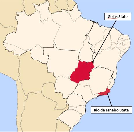 CDC Malaria Brazil Goias and Rio de Janeiro States Increase in