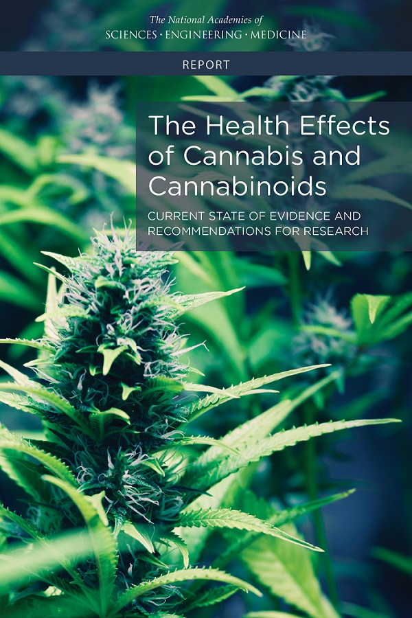 The Health Effects of cannabis and Cannabinoids. Current State of Evidence and Recommendations For Research