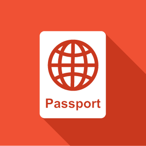 illustration of a passport