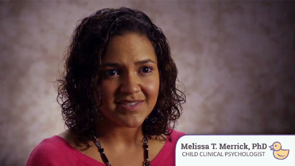 Melissa Merrick, CDC Behavioral Scientist and Child Clinical Psychologist, discusses positive parenting skills in Essentials for Parenting videos.