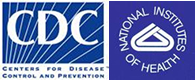 CDC and NIH logo